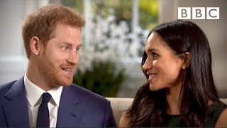 Download When Prince Harry and Meghan Markle fell in love | Interview - The Royal Wedding - BBC Video