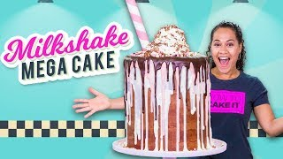 Download Massive Milkshake MEGA CAKE!! | How To Cake It Video