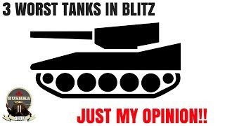 Download Worst Tanks In Blitz One Mans Opinion World of Tanks Blitz Video