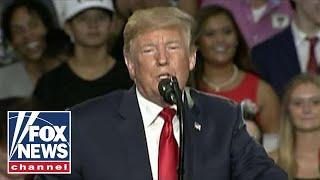 Download Trump hits back at mainstream media at Ohio rally Video