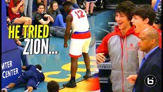 Download ″DONT TRY ME!″ Zion Williamson THROWS Shot Attempt INTO THE STANDS! Video