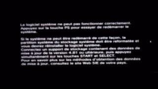 Download PS3 4.83 mise à jour formatée et réinstaller le logiciel système Video