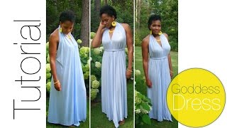 Download DIY Goddess Dress Tutorial Video