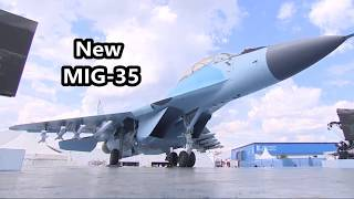 Download The New Russian MIG-35 During a Demonstration Flight at the MAKS 2017 . Video