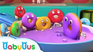 Download Learn Colors with Donuts   Numbers Song   Kids Kitchen   Nursery Rhymes   Baby Songs   BabyBus Video