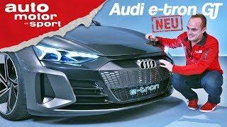 Download Audi e-tron GT: Erste Sitzprobe im neuen E-Quattro - Neuvorstellung (Review) | auto motor und sport Video