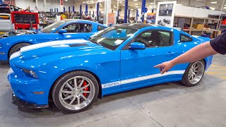 Download Shelby CONVINCES me to wide body my 1000HP GT500 Super Snake! Video