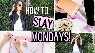 Download How to SLAY Mondays | Pre Monday Morning Routine Video