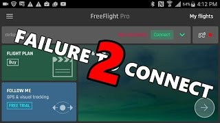 Download Failure 2 Connect: Properly connecting the Bebop 2, Your Tablet, and Skycontroller 2 Video