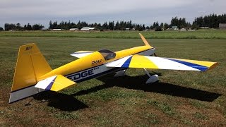 Download John 3D Flying His Pau Edge 540 DA100 36% Scale RC Plane Video