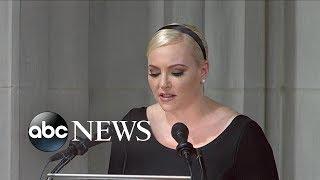 Download Meghan McCain tribute to John McCain Video