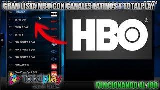 Download GRAN lista lista M3U con canales LATINOS y TOTALPLAY Funcionando al 100% Kodi Video