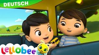 Download Die Räder vom Bus | Kinderlieder | Little Baby Bum Deutsch | Kinderreime Für Kinder Video