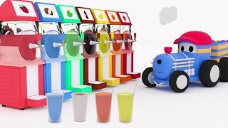 Download Colorful Slushies - Learn colors with Ted The Train | Educational cartoon for kids Video