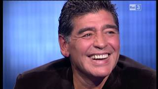 Download Diego Armando Maradona - Che tempo che fa 20/10/2013 Video