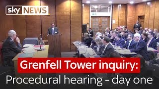 Download Grenfell Tower public inquiry - procedural hearing - day one Video