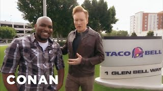 Download Conan Visits Taco Bell - CONAN on TBS Video