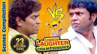 Download Johnny Lever Comedy Scenes VS Rajpal Yadav Comedy Scenes {HD} - 1 - Comedy Laughter Championship Video