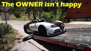 Download I drove a $2Million Bugatti Veyron and I BROKE IT Video