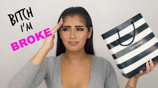 Download B*TCH I'M BROKE MAKEUP HAUL // Kylie Cosmetics, Morphe & more! Video