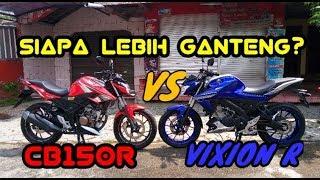 Download Adu Ganteng New Vixion R vs New CB150R. Pilih Mana Cak? Video