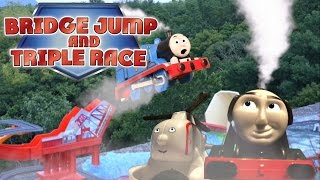 Download Thomas & Friends: Bridge Jump + Triple Chase | Thomas Creator Collective | Thomas & Friends Video