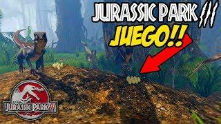 Download JUEGO DE JURASSIC PARK 3!! RAPTORES Y ISLA SORNA? Video