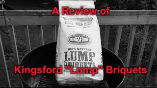 Download A Review of Kingsford ″Lump″ Charcoal Video