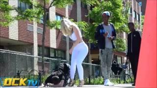 Download MIND BLOWING YOGA PANTS PRANK! LOL   EPIC Video
