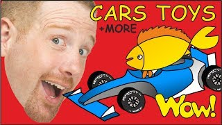 Download Cars Toys + MORE | English Collection of Stories for Kids from Steve and Maggie | Wow English TV Video