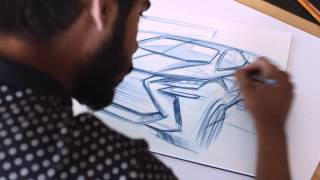 Download How to draw a car - designing the Lexus LF-SA Video