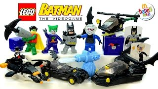 Download LEGO® Batman™ The Video Game 2008 McDonald's Happy Meal Toys Complete Set Video