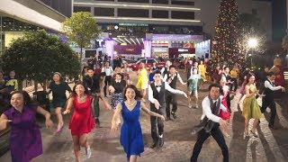Download Another Day of Sun from ″La La Land″ flash mob at 1563 at the East in Hong Kong Video