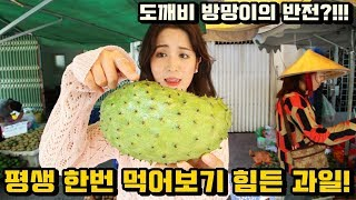 Download 평생 한번 먹어보기 힘든 열대과일! Video