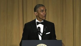 Download Obama's best 2016 jokes at the White House Correspondents' Dinner Video
