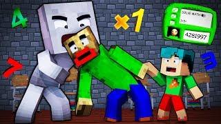 Download Minecraft - BALDI'S BASICS - EVIL SOCK EATS BALDI ALIVE! Video