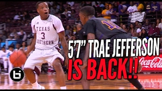 Download 5'7″ Trae Jefferson SHIFTIN' In COLLEGE! Full Highlights Video