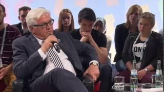 Download Federica Mogherini and Steinmeier meet students in Lübeck Video