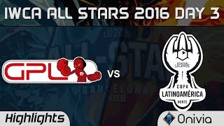 Download GPL vs LAN All for One Highlights IWCA Barcelona 2016 D3 SouthEast Asia vs Latin America North Video