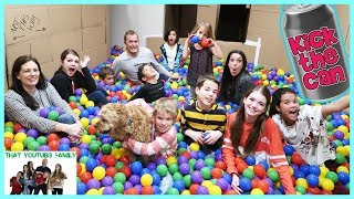 Download Kick The Can In Box Fort Maze ft. The Ohana Adventure / That YouTub3 Family Video