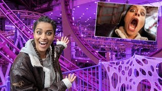 Download VLOGGING WHILE RIDING THE WORLD'S LARGEST ROLLER COASTER Video