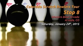 Download Colorado Scratch Bowlers Tour - Stop 8 - 01/24/2015 Video