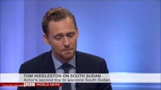 Download Tom Hiddleston on BBC world news UNICEF 29/11/2016 Video