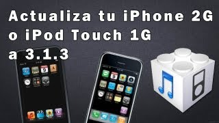 Download Como actualizar un iPod/iPhone/iPad [iPod Touch 1G 3.1.3] Video