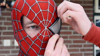 Download Making the SPIDER-MAN Mask! Movie Costume Replica Video