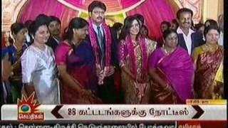 Download Durai Dhaya weds Anusha RECEPTION 17.11.10 tv News relay Video