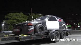 Download I-Streetrace - 50Cal All Motor K-Series Civic VS #KBLU Nitrous K-Series Civic!! Video