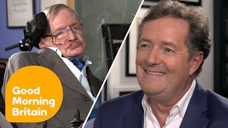Download Stephen Hawking on Donald Trump's US: ″I Fear I May Not Be Welcome″ | Good Morning Britain Video