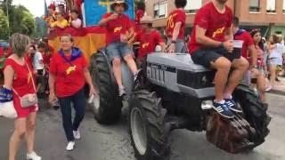 Download Desfile de Santiago y Santa Ana 2016 -Grao e Basta- Video