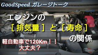 Download 軽自動車で高速道路120km! 大丈夫? エンジンの排気量と寿命の関係 Video